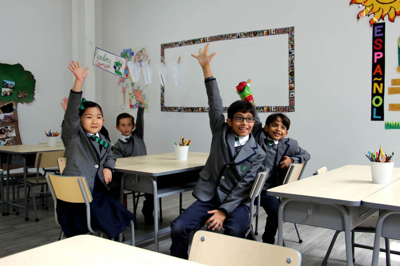 A British International school with a focus on human values and formation